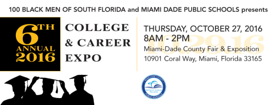 100 Black Men of South Florida to host its 5th Annual College & Career Expo