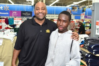 100 Black Men of South Florida, Inc. Continues Holiday Tradition By Providing Shopping Experience for Economically Disadvantage Families and Children In South Florida