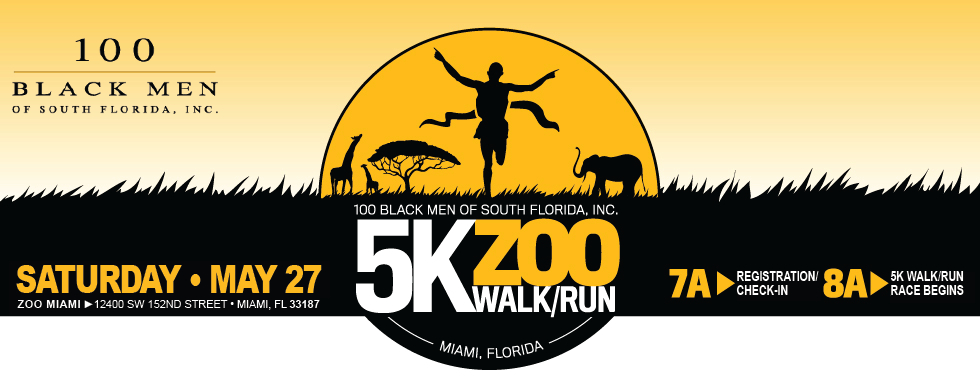 100 Black Men of South Florida Zoo Walk/Run 5K