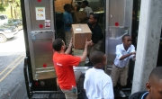 100 Black Men of South Florida serves Baskets and Hot Meals to underserved communities in Miami Dade