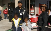 Christmas Cheer provided to underserved children in Miami Dade and Broward Counties at the 100 Black